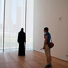 Joan At Art Institute of Chicago by Gary Chapple