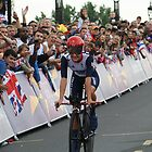 Elizabeth Armitstead Team GB - Womens Time Trial - London 2012 by Colin J Williams Photography
