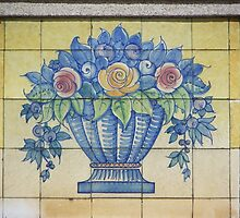 Traditional Portuguese Tiles by Ana  Eugénio