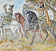 Charlemagne's Kingdom by artisandelimage