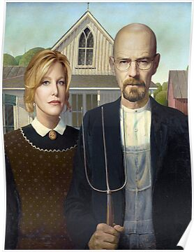 Breaking Bad American Gothic Parody by Paul Gitto