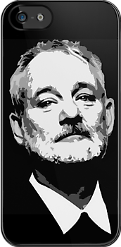It's Bill Murray!  iPhone/iPod case by Framerkat