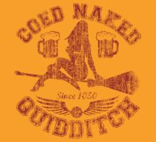 Coed Naked Quidditch (Vintage Red) by Jay Kristopher Huddy