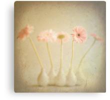 Vintage Pink Flowers Canvas Print
