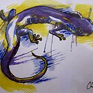 Salamander Burst by Christopher Boring