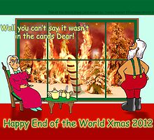 Happy End of the World Xmas 2012 - Santa's dilemma 03  by TommyRocket