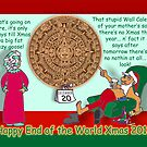 Happy End of the World Xmas 2012 - Santa's dilemma 04  by TommyRocket