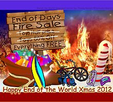 Happy End of the World Xmas 2012 - Santa's dilemma 05  by TommyRocket