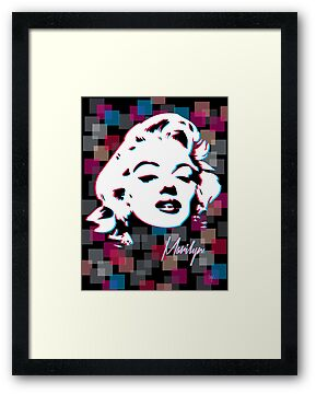 Marilyn Monroe - Icon - Pop Art by wcsmack