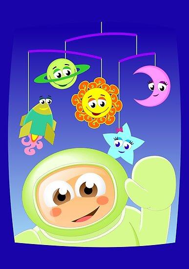 Little astronaut by tudi