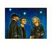 Bee Gees Art Print