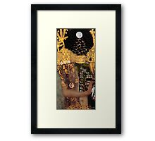 Klimt´s Judy Collage 2 Framed Print