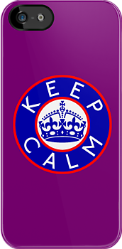KEEP CALM ROUNDEL xvi by GraceMostrens