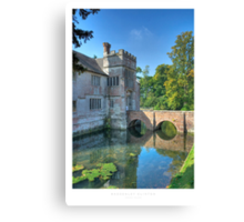 Baddesley Clinton Canvas Print