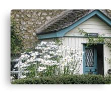 Country Cottage.....Devon UK Canvas Print