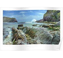 Lulworth Cove Poster