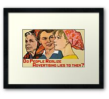 Do people realize Framed Print