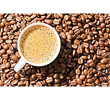 Espresso Love Photographic Print