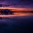 Lake Grassmere panoramic by Paul Mercer
