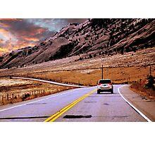 BC Highway Photographic Print