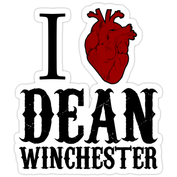 Anatomical Love - Dean Winchester by tripinmidair