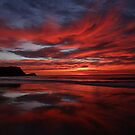 Sunrise Avoca Beach, NSW, Australia by Samantha  Goode