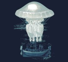 Jellyfish dirigible by KaliBlack