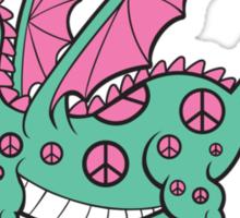 Pepper The Peace Dragon Sticker