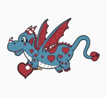 Pepper The Love Dragon Kids Clothes