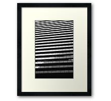 The Artist formerly known as National Mutual Plaza Framed Print