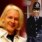 The Crucifixion of Julian Assange by David Nicolas