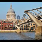 St Pauls from South by Pauws99