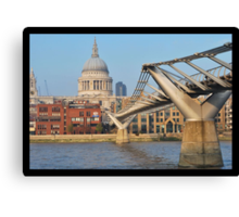 St Pauls from South Canvas Print
