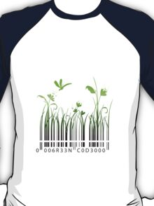 Green Barcode T-Shirt