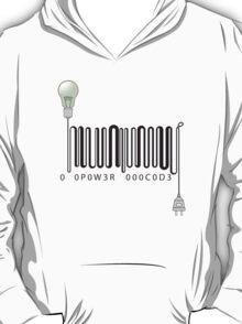 Electric barcode T-Shirt