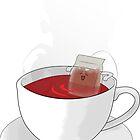 tea bath by Vincent Burton