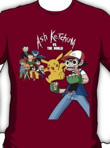 Ash Ketchum VS the World T-Shirt