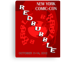 Redbubble NYCC Contest Entry Canvas Print