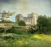 Helmsley Castle by Jean Turner