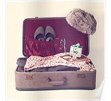 Vintage Suitcase  Poster