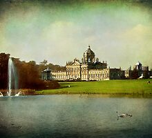 Castle Howard From The South Lake by Jean Turner