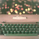 Typewriter and Magic Lights  by Andreka