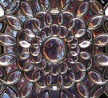 Cosmic Lens Flower II (CU) by Hugh Fathers