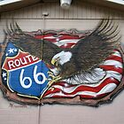 Sign Route 66 - Seligman Arizona by albyw