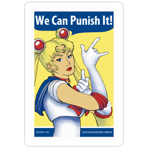 We Can Punish It! Sticker by Christadaelia