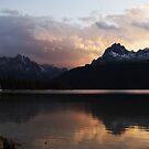 Redfish Lake Storm by carmstrong