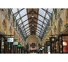 Royal Arcade, Melbourne Photographic Print