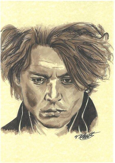 Johnny Depp - Ichabod Crane by tonito21