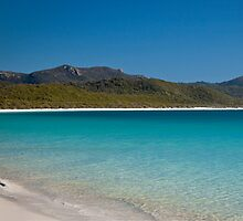 Paradise Found - Whitehaven Beach - Whitsundays by Ivan Kemp