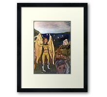 The Epic of Libra Framed Print